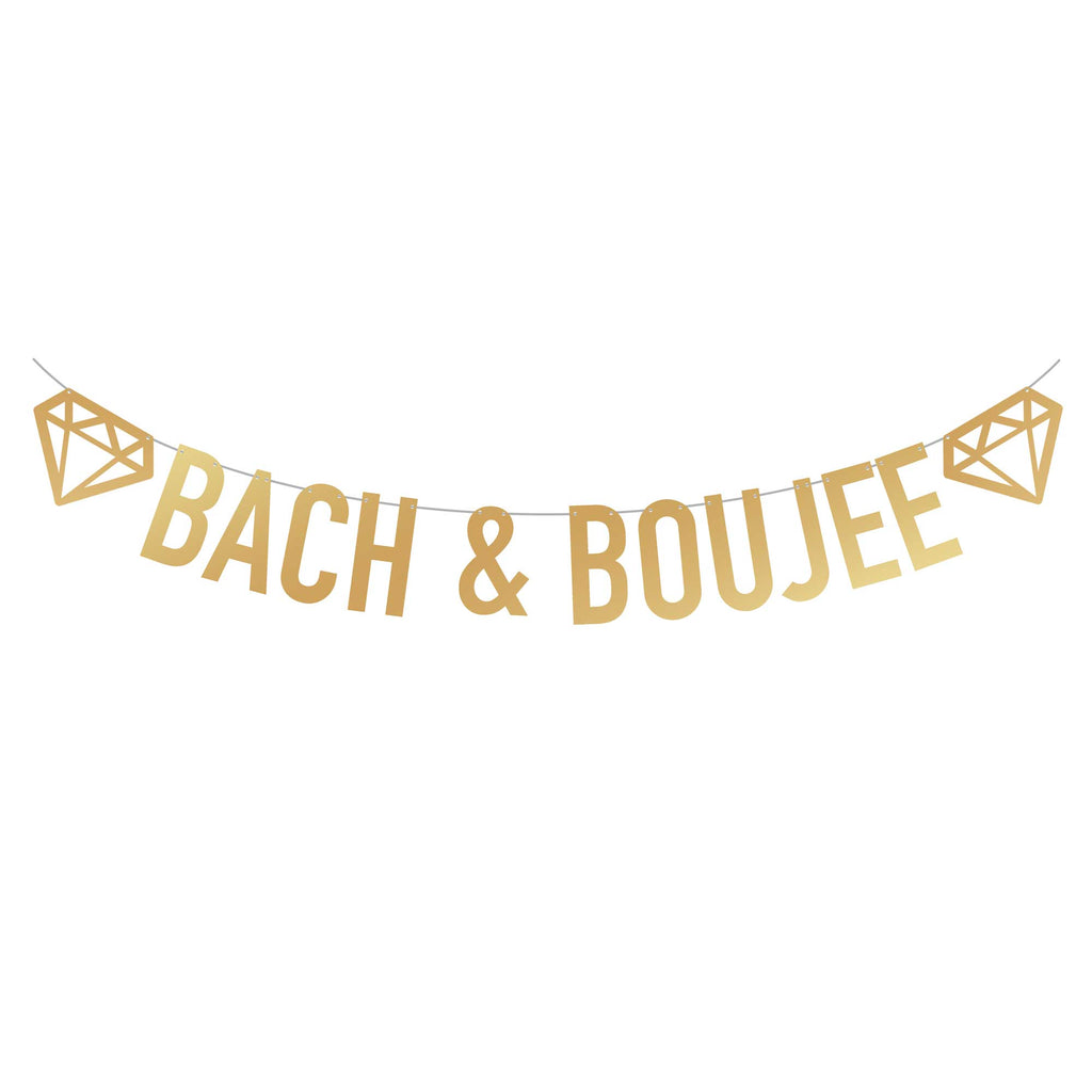 Bachelorette Party Banner | Bach & Boujee | Stag & Hen