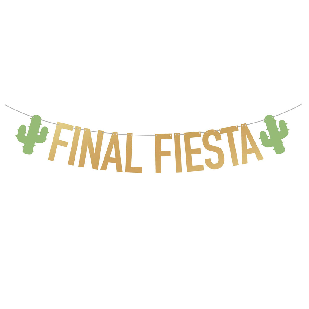 Fiesta Bachelorette Party Banner | Final Fiesta | Stag & Hen