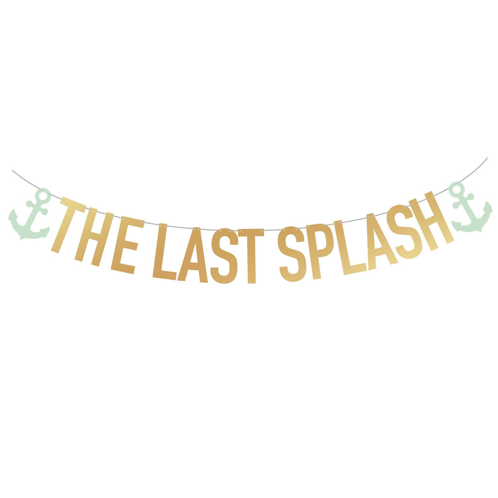 Bachelorette Party Banner | The Last Splash | Stag & Hen