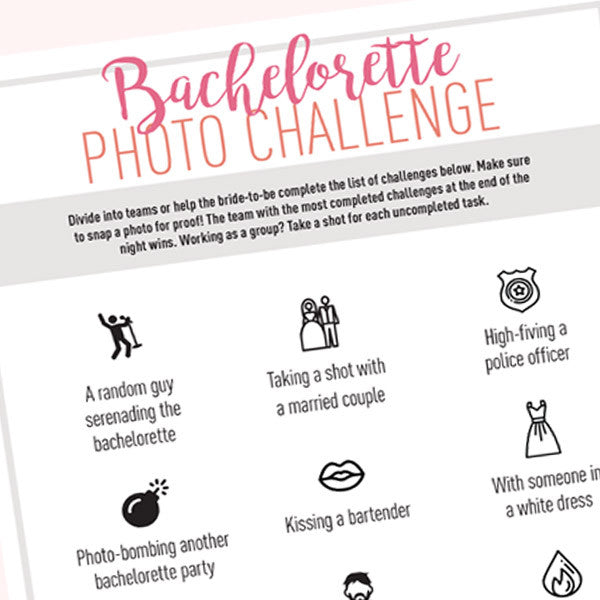 Bachelorette Party Games & Activities