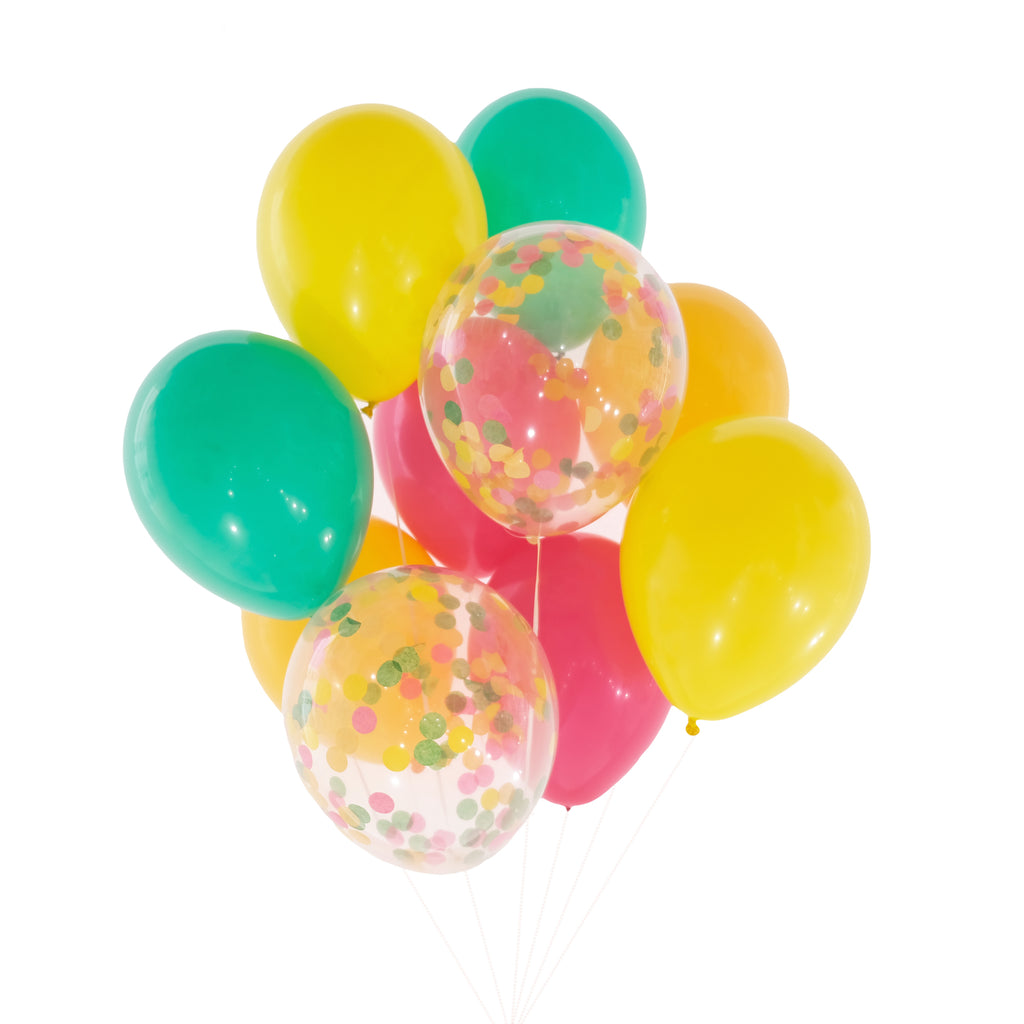 Final Fiesta Confetti Balloon Bundle