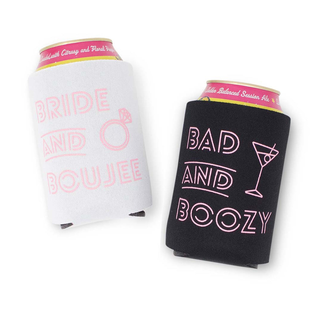 Bachelorette Party Koozies - Bach & Boujee