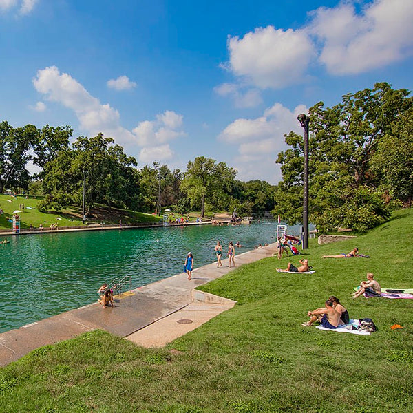 Austin Bachelorette Party Ideas - Barton Springs