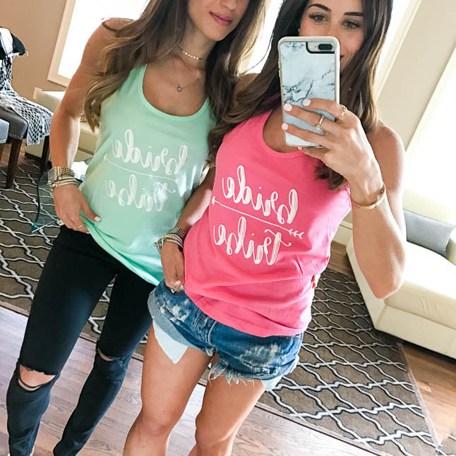 Bride Tribe Tanks - Stag & Hen