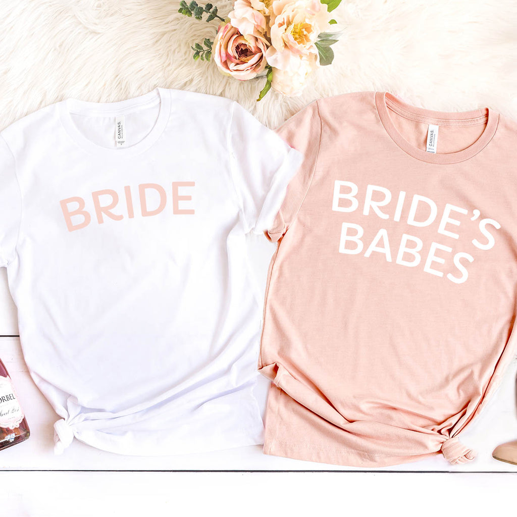 Bride's Babes Tees