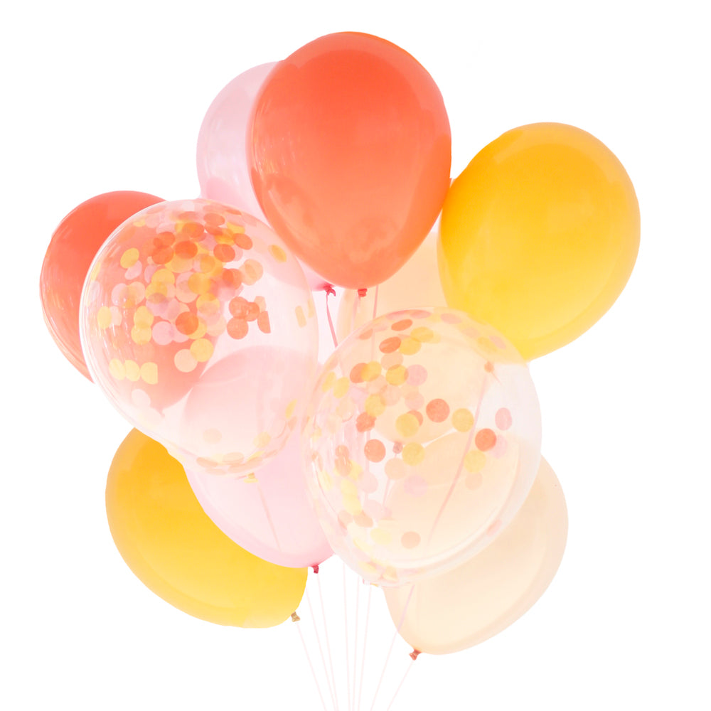 Cheers Beaches Confetti Balloon Bundle - Stag & Hen