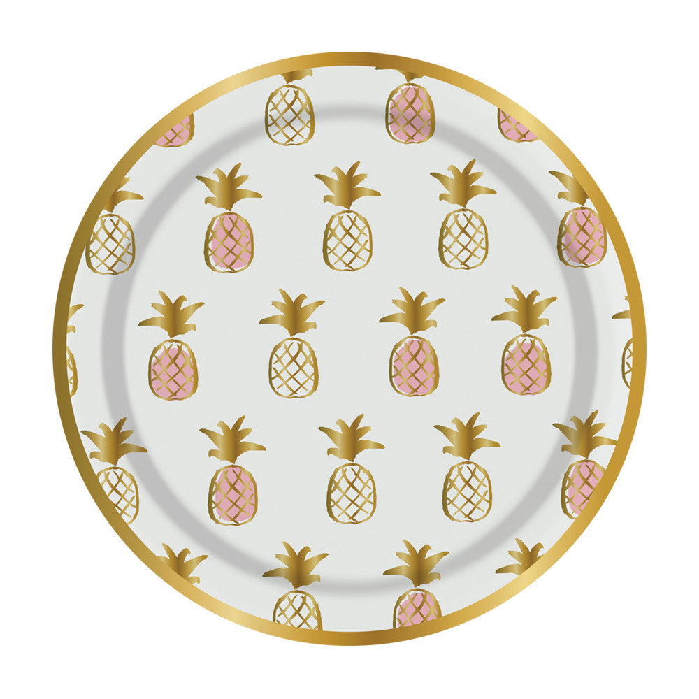 Bachelorette Accessories - Pineapple Snack Plates