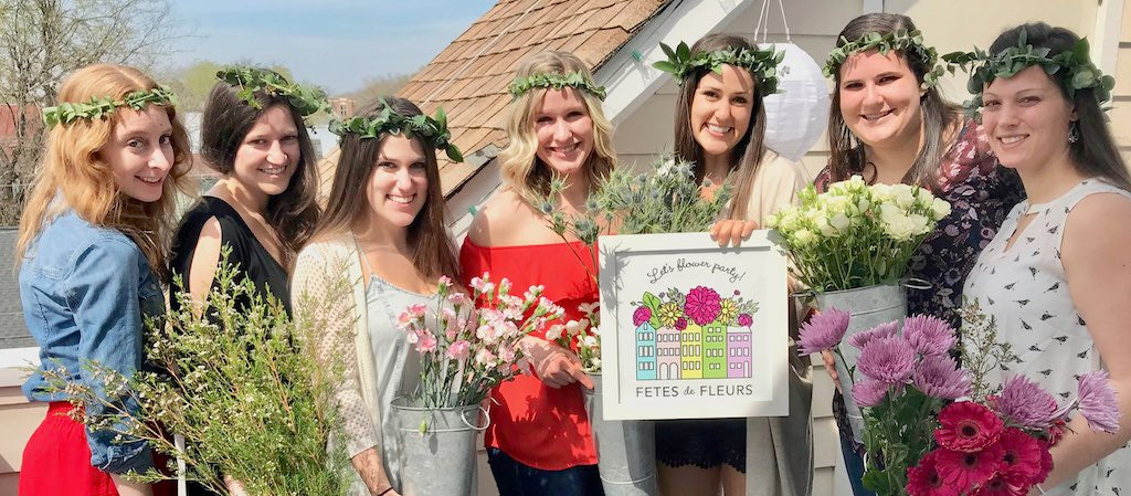 Charleston Bachelorette Party Ideas - Flower Crown Party with Fetes ... 952d636cdeb