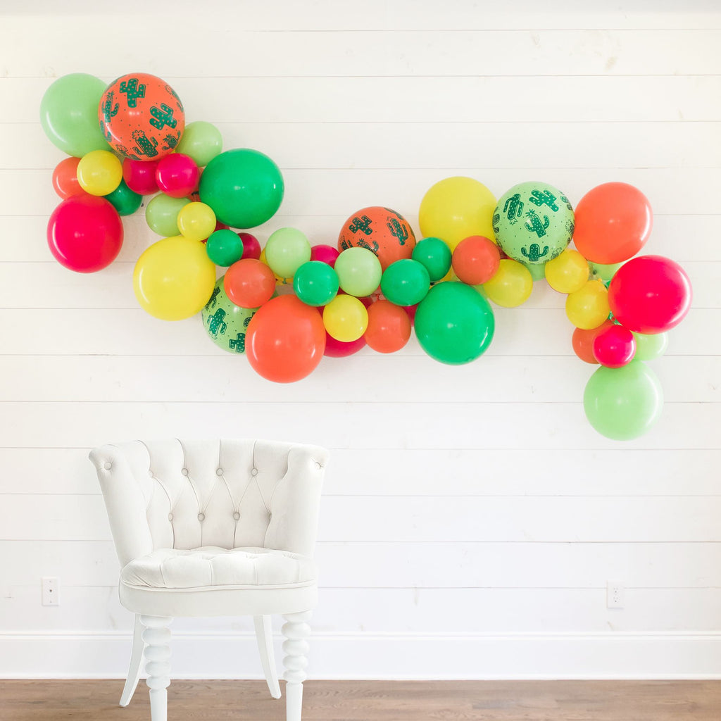 Final Fiesta DIY Bachelorette Party Balloon Garland Kit | Mexican, Fiesta Bachelorette Party Decorations, Favors, Accessories