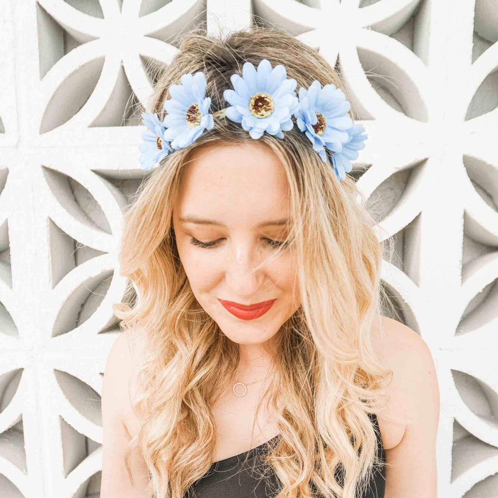 Bachelorette Party Flower Crowns | Bachelorette Flower Headbands | Stag & Hen