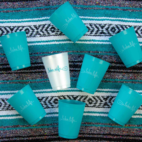 Lake Life Bachelorette Party Cups | Lake House Bachelorette Party Gifts, Favors, Accessiroes