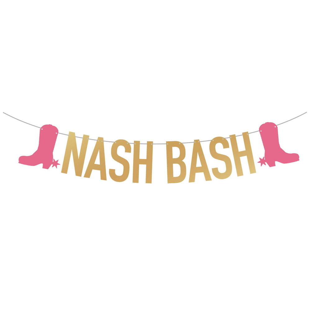 Nashville Bachelorette Party Banner | Nash Bash | Stag & Hen