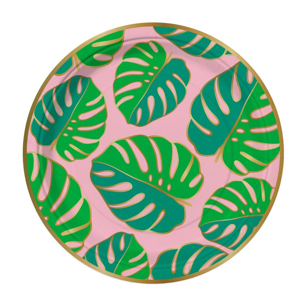 Tropic Like It's Hot Snack Plates - Stag & Hen