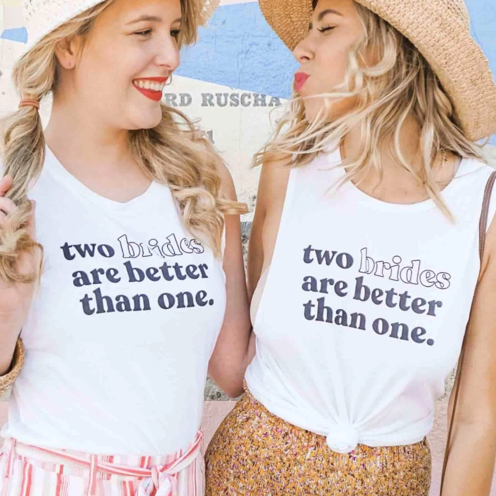 LGBTQ Bachelorette Party Shirts | Lesbian Bachelorette Party Shirts | Stag & Hen