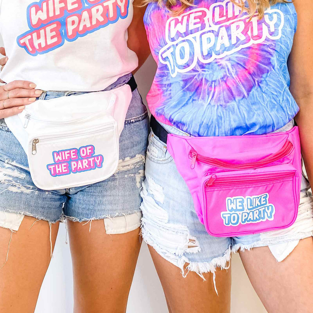 Wife Of The Party Fanny Packs