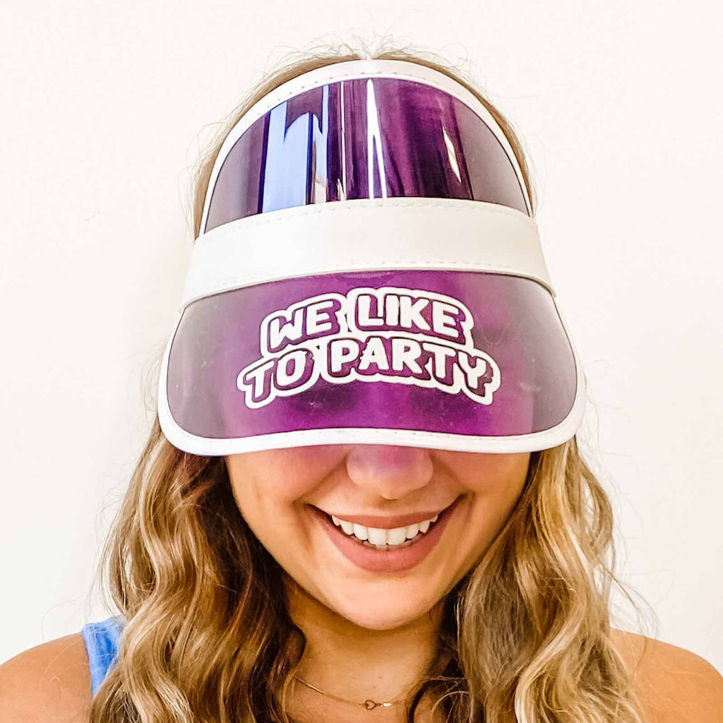 Wife Of The Party Retro Sun Visors