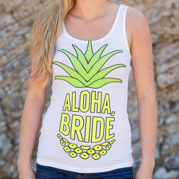 Aloha Beaches Tanks - Stag & Hen