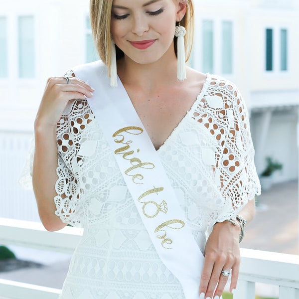 Bride To Be Sashes