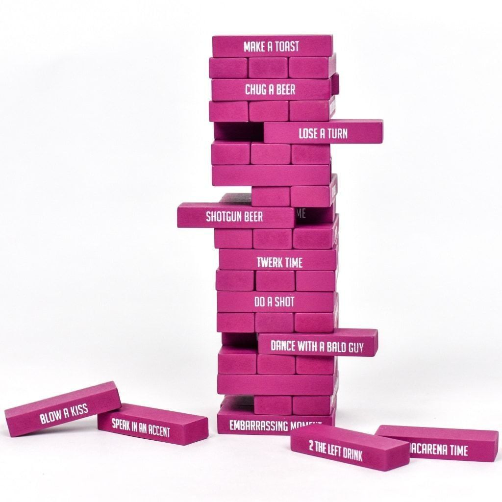 Booze N' Babes Girls Night Jenga