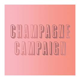 Champagne Campaign Bachelorette Party Napkins
