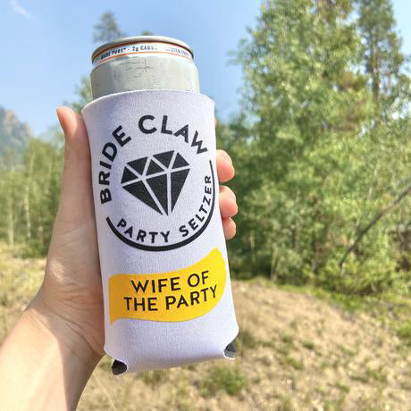Bride Claw Skinny Can Coolers