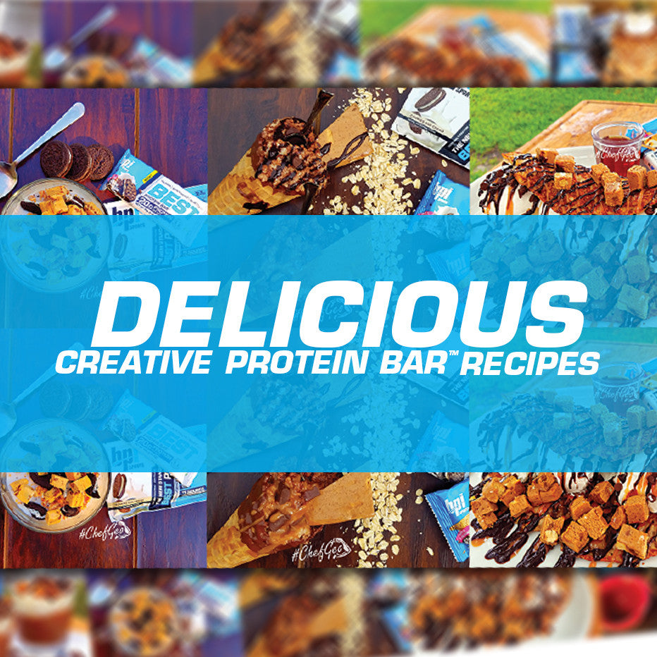 Delicious, Creative Best Protein Bar™ Recipes