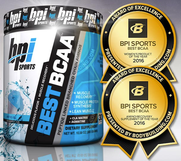 Best BCAA™ Wins Two Supplements Awards