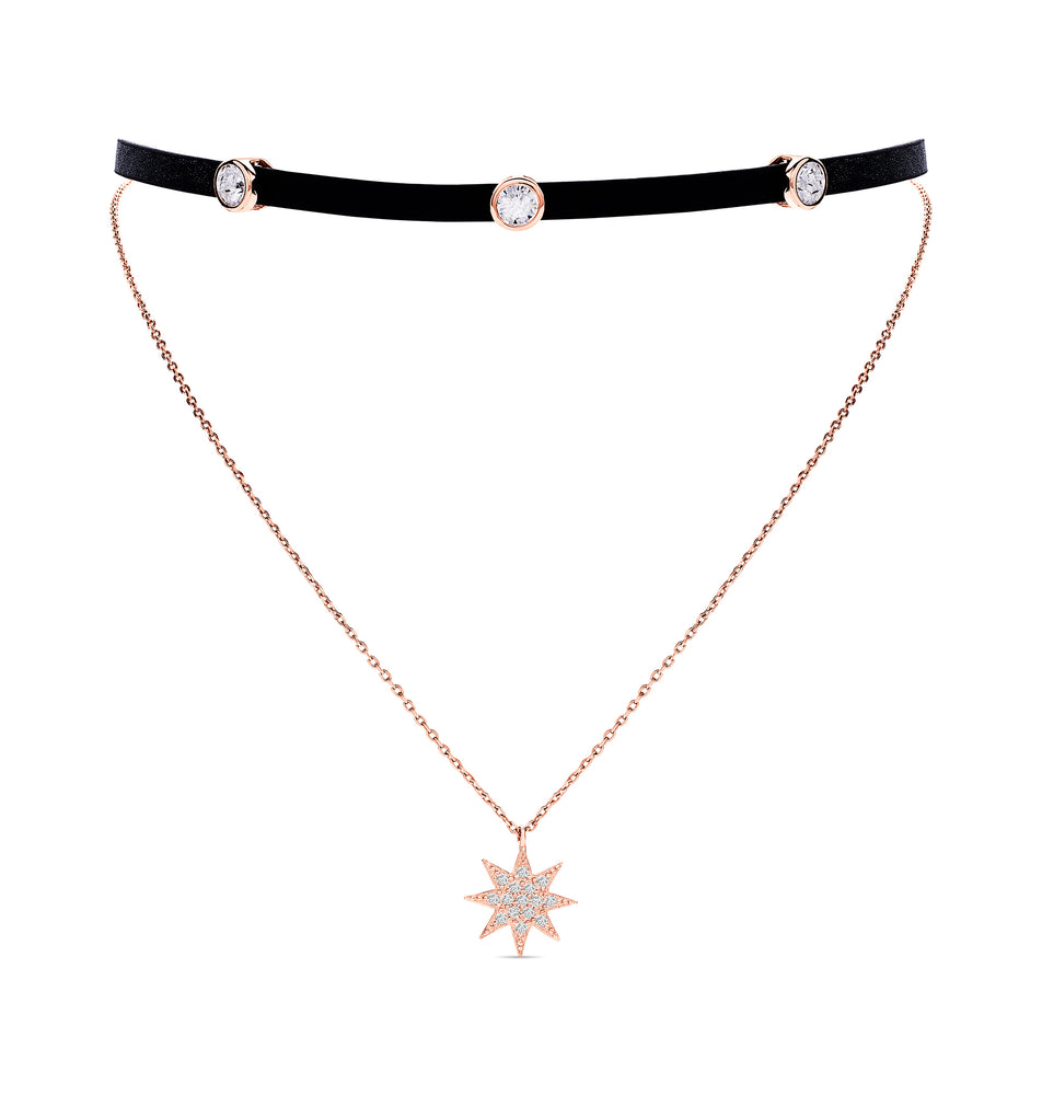 Anne Choker - Rose Gold