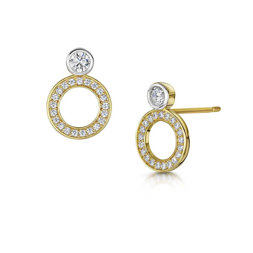 Charlotte Earrings - Yellow Gold