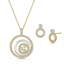 Charlotte Pendant Set - Yellow Gold