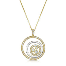 Charlotte Three Circle Pendant - Yellow Gold