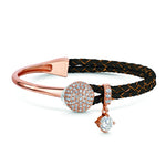 Dianna Leather Bracelet - Brown