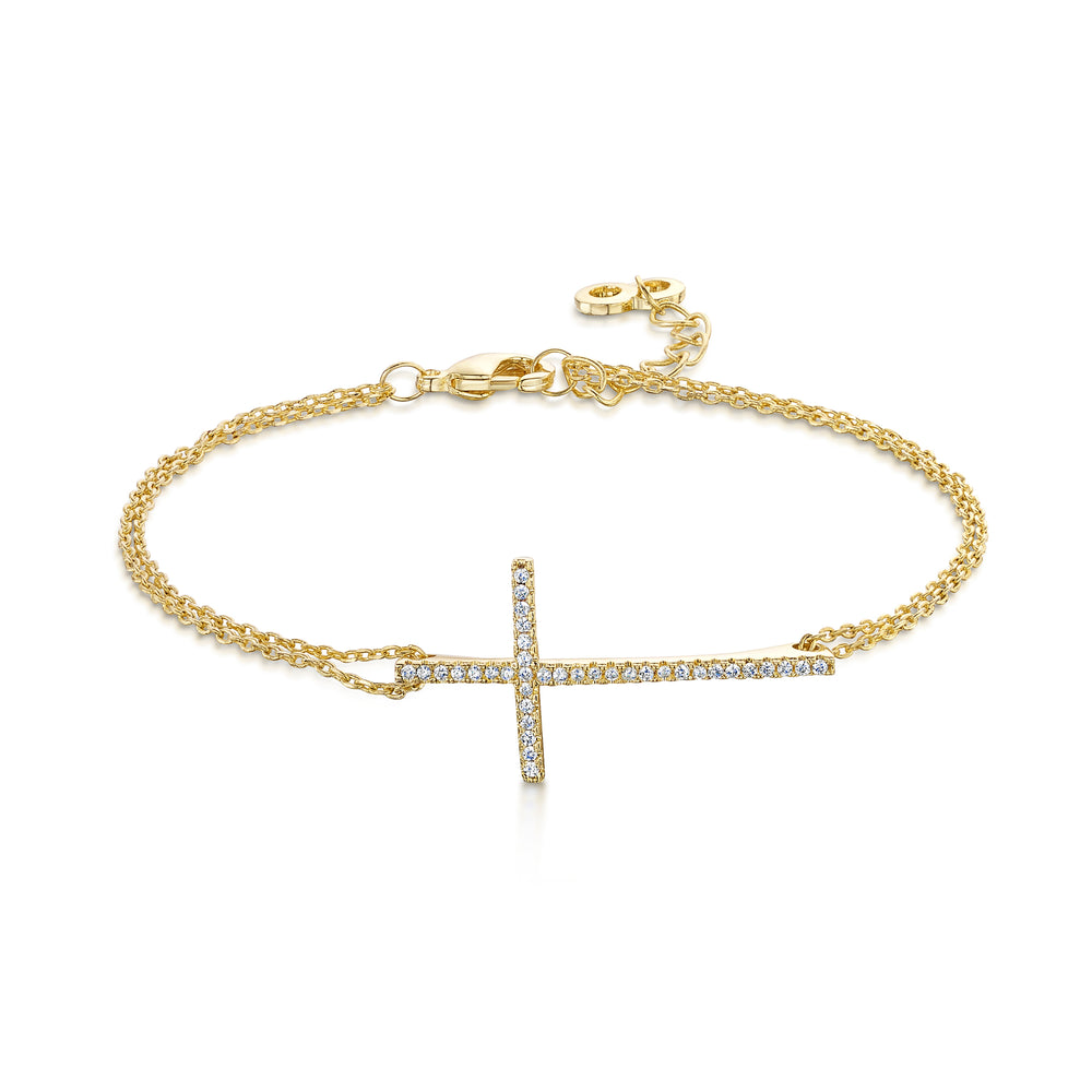 Faith Bracelet - Yellow Gold