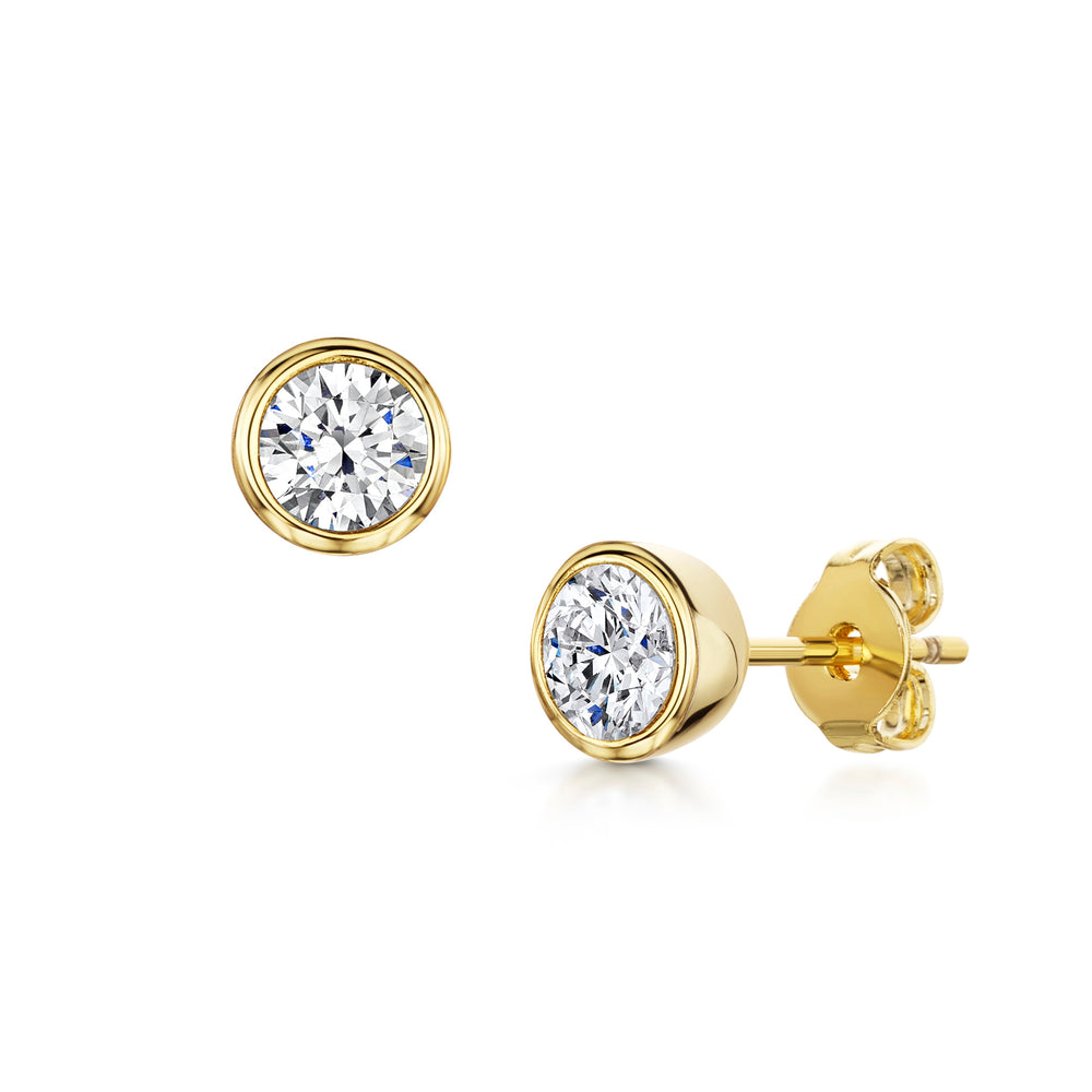 Load image into Gallery viewer, Faith Earrings - Gold