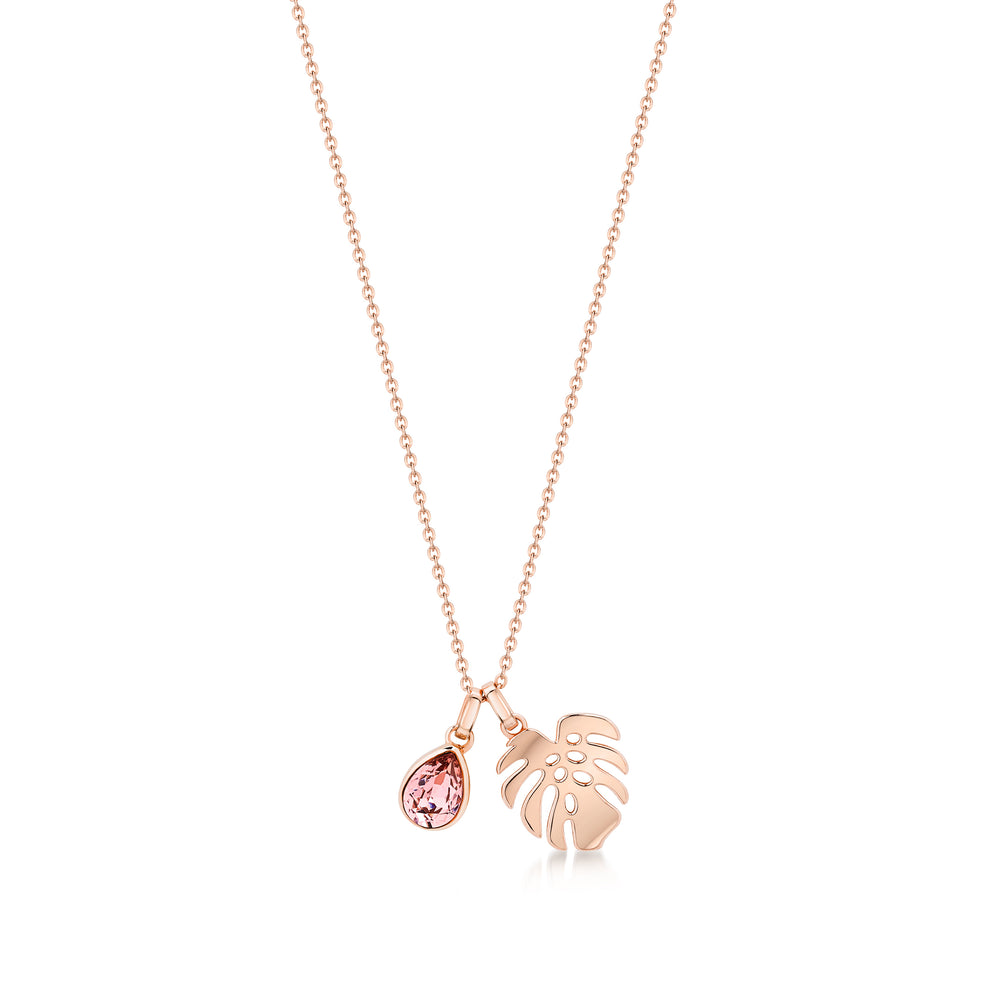 Florence Pendant  / Necklace - Rose Gold