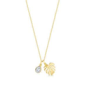 Florence Pendant  / Necklace - Gold
