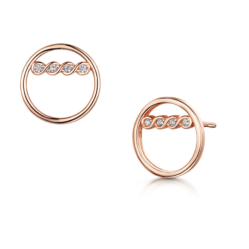 Freya Earring - Rose Gold