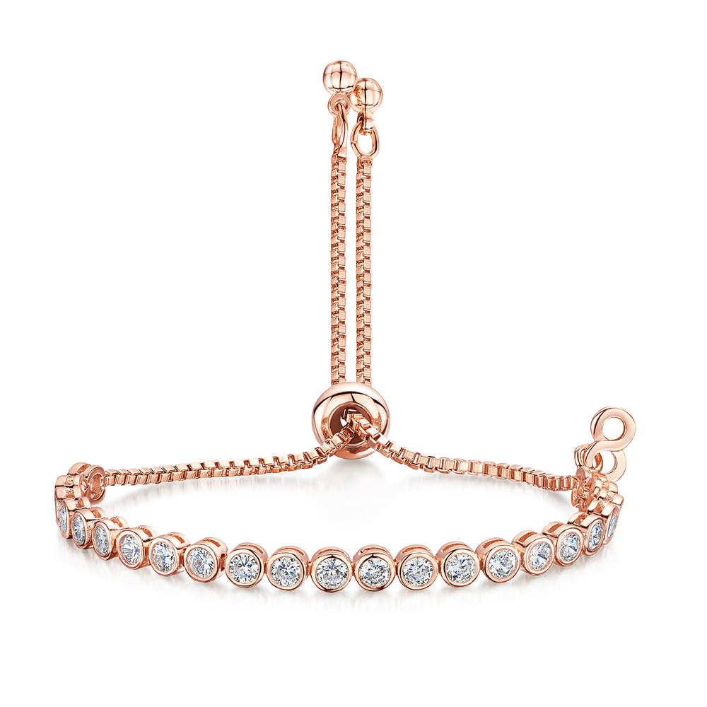 Freya Friendship Bracelet - Rose Gold