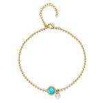 Rosanna Pendant, Bracelet and Stud Set Yellow Gold