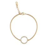 erica bracelet yellow gold