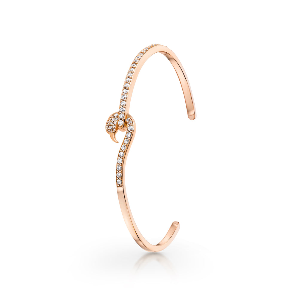 Load image into Gallery viewer, Flamingo bangle Rose Gold