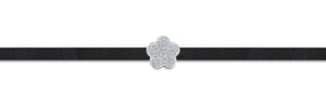 Load image into Gallery viewer, zara choker rhodium