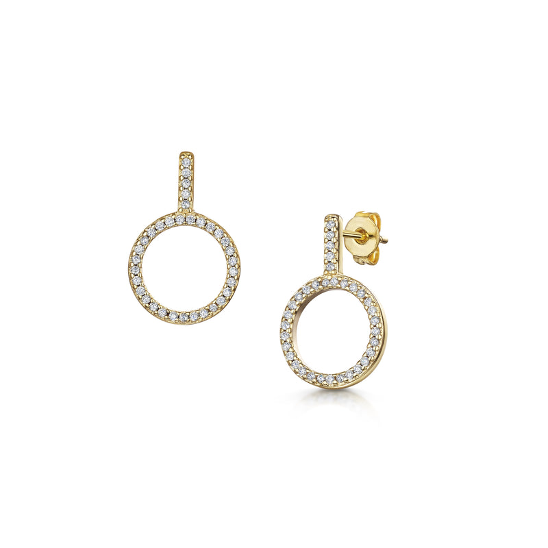 Erica Earring - Yellow Gold