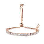 Anya Friendship Bracelet - Rose Gold