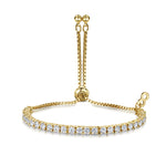 Anya Friendship Bracelet - Yellow Gold