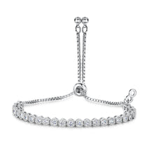 rhodium friendship bracelet