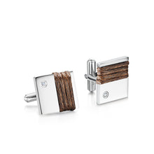 Cameron Cuff Links - Brown