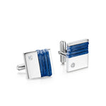 Cameron Cuff Links - Navy