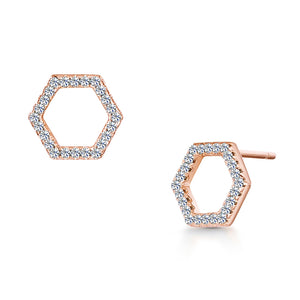 Load image into Gallery viewer, Imogen Duo Earring- Rose Gold
