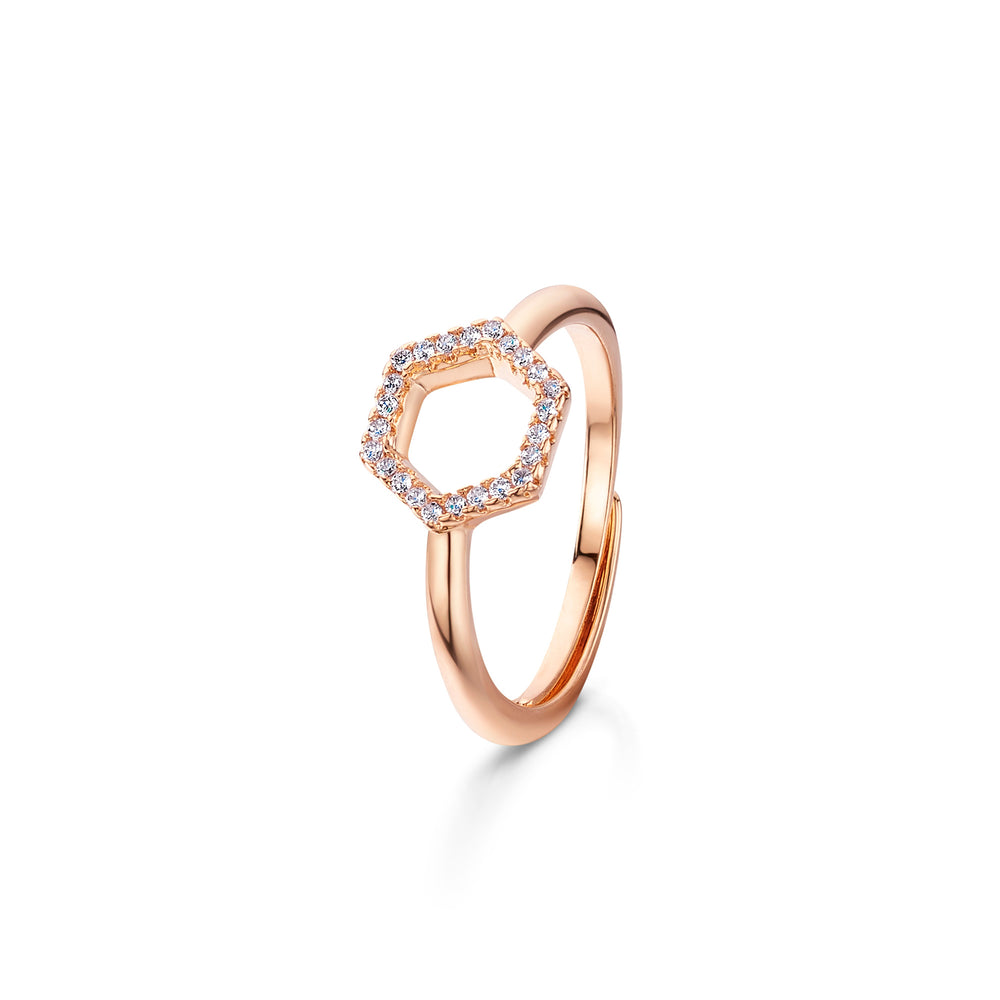 Imogen Ring- Rose Gold